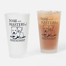 KiniArt DOGS Are Drinking Glass