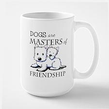 KiniArt DOGS Are Large Mug