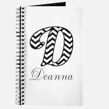 Monogram D Your Name Custom Journal
