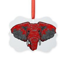 Crimson Takes Over Ornament