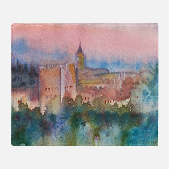 Cool Alhambra Throw Blanket