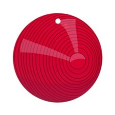 00-but-croq-red.png Ornament (Round)
