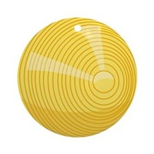 00-but-croq-yellow.png Ornament (Round)