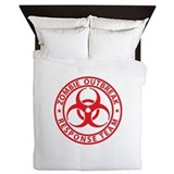 Zombie bedding Queen Duvet Covers