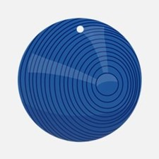 00-but-croq-blue.png Ornament (Round)