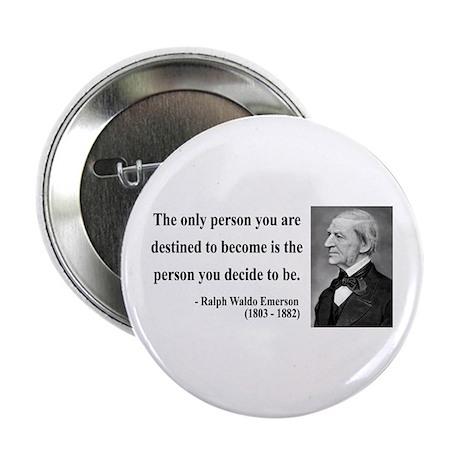 "Ralph Waldo Emerson 2 2.25"" Button (100 pack)"