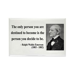 Ralph Waldo Emerson 2 Rectangle Magnet