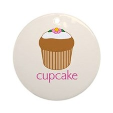 00-fancycupcake-button.png Ornament (Round)