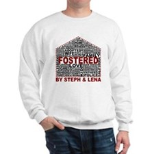 Fostered by Steph and Lena Sweater