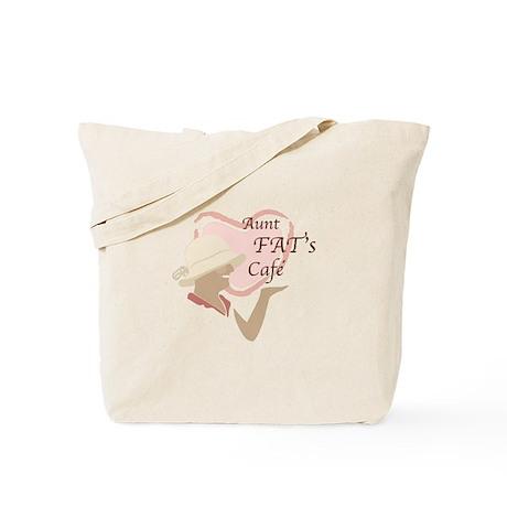 Aunt FAT's Cafe Tote Bag