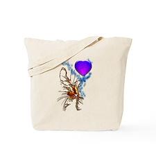 Cat Heart Tote Bag