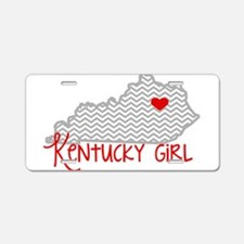 KY Girl Aluminum License Plate