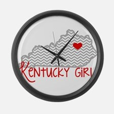 KY Girl Large Wall Clock