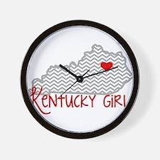 KY Girl Wall Clock