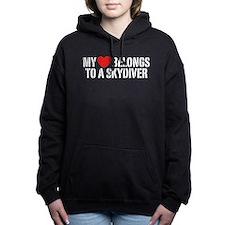 My Heart Belongs to a Sk Women's Hooded Sweatshirt