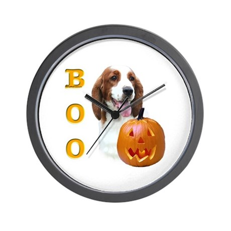 Welsh Springer Boo Wall Clock