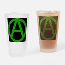 Circle A Drinking Glass