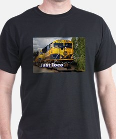 Just loco: Alaska locomotive T-Shirt