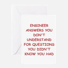 ENGINEER1 Greeting Cards