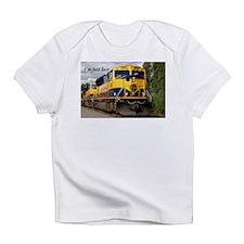 I'm just loco: Alaska Railroad loco Infant T-Shirt