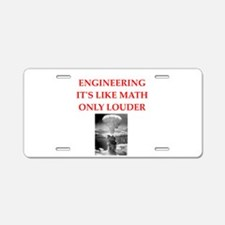 EBGINEER Aluminum License Plate