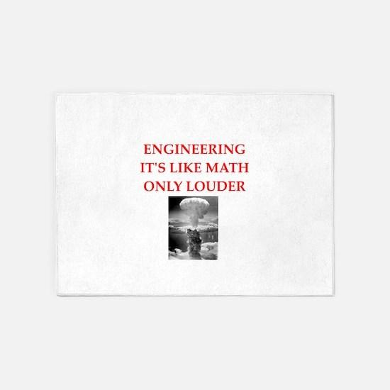 EBGINEER 5'x7'Area Rug