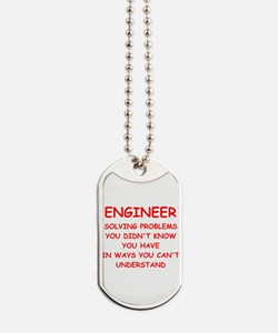ENGINEER Dog Tags