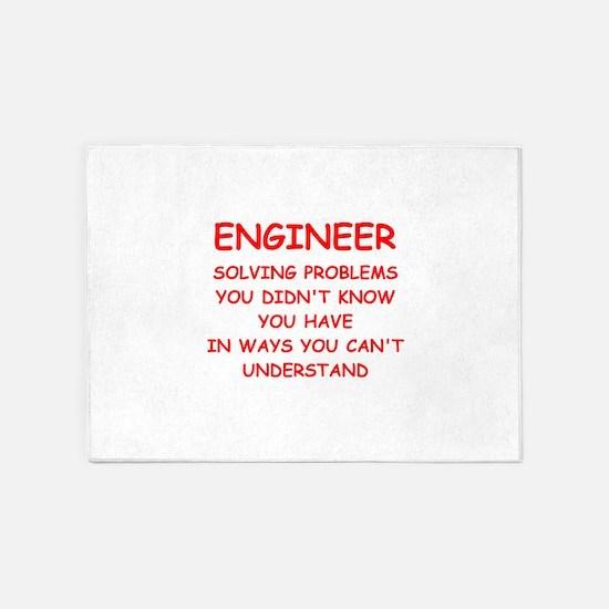 ENGINEER 5'x7'Area Rug