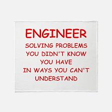 ENGINEER Throw Blanket