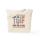 TGIF Thank God I'm Free Tote Bag