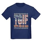 TGIF Thank God I'm Free Kids Dark T-Shirt