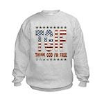 TGIF Thank God I'm Free Kids Sweatshirt