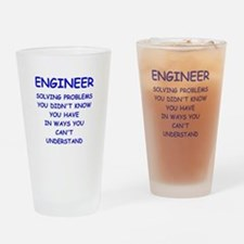 ENGINEER Drinking Glass