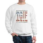 TGIF Thank God I'm Free Sweatshirt