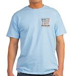 TGIF Thank God I'm Free Light T-Shirt