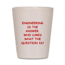 ENGINEERING Shot Glass