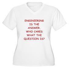 ENGINEERING Plus Size T-Shirt