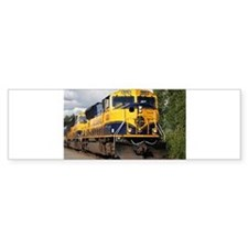 Alaska Railroad engine locomotive Bumper Bumper Sticker