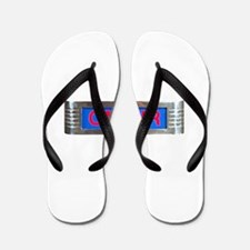 On-Air Broadcasting Sign Flip Flops