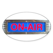 On-Air Broadcasting Sign Decal