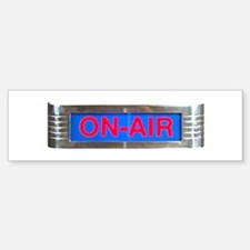 On-Air Broadcasting Sign Bumper Bumper Bumper Sticker