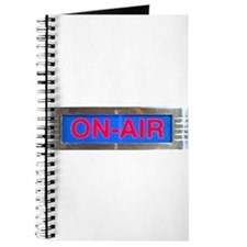 On-Air Broadcasting Sign Journal