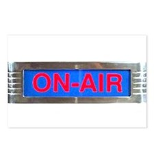 On-Air Broadcasting Sign Postcards (Package of 8)