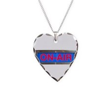 On-Air Broadcasting Sign Necklace