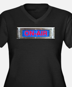 On-Air Broadcasting Sign Plus Size T-Shirt
