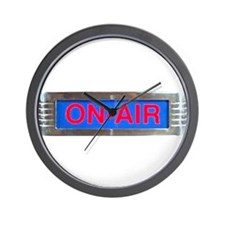 On-Air Broadcasting Sign Wall Clock