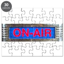 On-Air Broadcasting Sign Puzzle