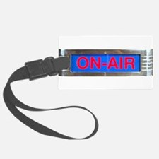 On-Air Broadcasting Sign Luggage Tag