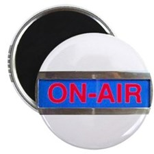 On-Air Broadcasting Sign Magnets