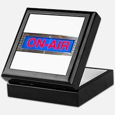 On-Air Broadcasting Sign Keepsake Box